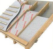 Insulating sloped roofs