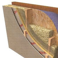 Insulating timberframe homes