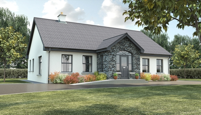 Timberframe homes in ireland and uk kilbroney for Bungalow plans ireland