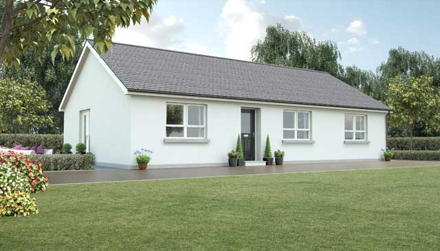 Timberframe homes in ireland and uk kilbroney for Timber frame bungalow