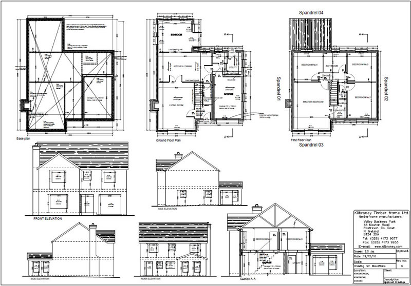 tandragee timber frame house plans ireland on sample home plans - Sample House Plans